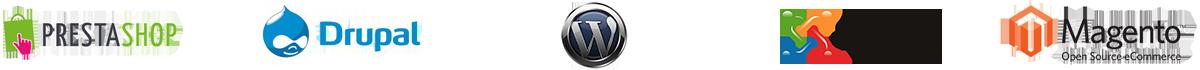 Logo-Prestashop-Drupal-Wordpress-Joomla-Magento-Sarghy-Design